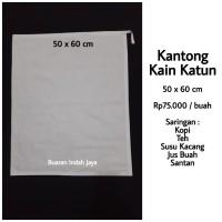 Kantong Kain ( 50 x 60 cm ) Saringan Kopi, Susu Kacang, Teh