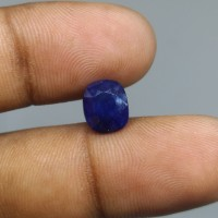 Natural Blue Sapphire Africa Batu Blue Safir Afrika Asli Blue Safir