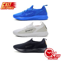 SEPATU TRAINING ORTUSEIGHT BOA WHITE LIGHT GREY, AZURE NEON GREEN