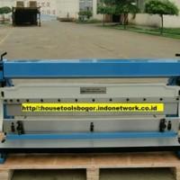mesin roll plat besi manual 1.5mm x 1.067mm . alat penekuk roll plat