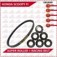 DRIVE BELT WITH SUPER ROLLER BRT (SCOOPY FI /BEAT FI/SPACY FI)