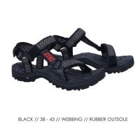 C 1DF49 Sandal Pria Sandal Adventure Sandal Gunung Hiking Pria Ori