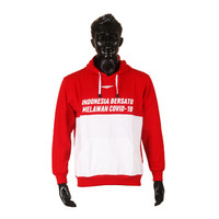 Proteam Hoodie Red-White