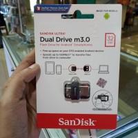 SANDISK FLASHDISK DUAL DRIVE m3.0 OTG 32GB