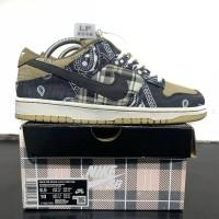 Sepatu Sneaker TRAVIS SCOTT Cactus Jack Nike SB DUnk Low Premium BNIB