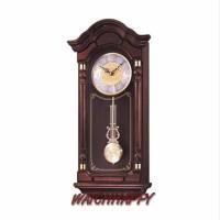 SEIKO ORIGINAL100% QXH004B Classic Dual Chime Wooden Wall Clock QXH004