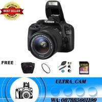 Kamera canon eos 100d kit 18-55mm (PAKETAN)