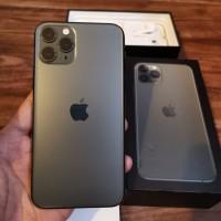 IPHONE 11 Pro Max 256 Gb Grey Mulus Full Original Garansi Bisa Gosend