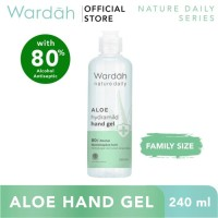 Wardah Nature Daily Aloe Hydramild Hand Gel 240 ml