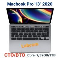 """Macbook Pro 13"""" 2020 CTO/BTO Core i7/32GB/1TB"""