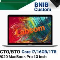"""Macbook Pro 13"""" 2020 CTO/BTO Core i7/16GB/1TB"""