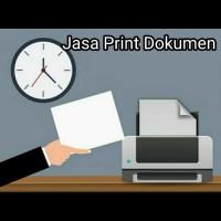 JASA PRINT/CETAK DOKUMEN 1/2 WARNA
