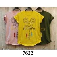 Tshirt tumblr cewek Dusty Kuning Hijau pilih uk M L XL XXL jumbo XXXL