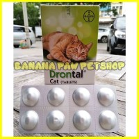 Obat Cacing Kucing Drontal Cat / Pcs