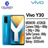 VIVO Y30 RAM 4/128GB GARANSI RESMI 1 TAHUN