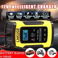 Charger Aki Intelligent Automatic Mobil Motor 12V 6A