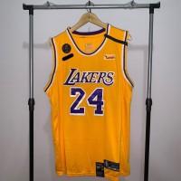 Jersey Basket Swingman NBA Los Angeles Lakers Kobe Bryant kuning 24 2