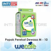 WECARE - Popok Dewasa Unisex M 10 / Popok Perekat / Adult Diapers