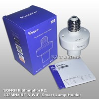 Sonoff Slampher Fitting Lampu Wireless Wifi