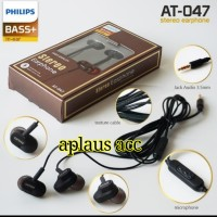 Handsfree/Headset/Earphone Philips AT-047 Stereo Bass+ In-Ear