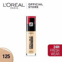 L'Oreal Paris Infallible Pro Matte Liquid Foundation - 125 Natural Ros
