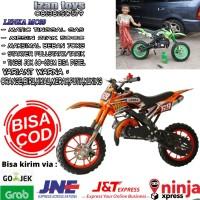 Hadiah Sunat-Ultah Motor Mini trail-Motor anak-Lenka Mc69-Orange