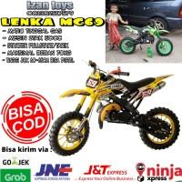 Motoran anak trail-motor mini anak-Motor Mini trail-Lenka mc69-kuning