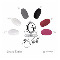 Madame Gie Nail Shell Peel Off Natural Series