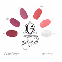 Madame Gie Nail Shell Peel Off Calm Series