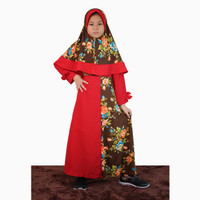 Long Dress Gamis Maxi Hijab perempuan 8 - 12 tahun - Jfashion Tisha