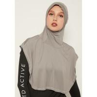 LH043 sport hijab tetta td active abu muda
