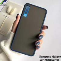 case matte macaron tpu hardcase case doff Samsung A7 2018