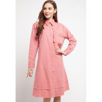 Outer Kekinian Aromore Dien Pink Fit to XL