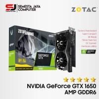 VGA Zotac GeForce GTX 1650 4GB DDR5 AMP Edition