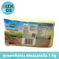 Keju Greenfields Mozzarella Cheese 1 Kg Khusus Gojek