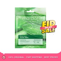 Wardah Nature Daily Sheet Mask Aloe Vera Masker Wajah [20 mL]
