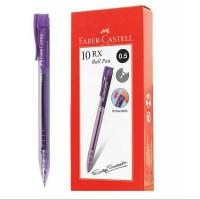 Pena Faber-Castell RX 0.5mm hitam body violet