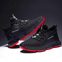 conxegn men sepatu kets sneakers slip on running sport pria casual