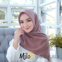 Bella Square Hijab Segiempat Milo - Jilbab Segiempat