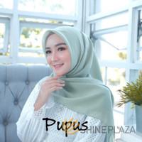 Bella Square Hijab Segiempat Pupus - Jilbab Segiempat