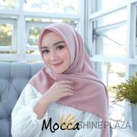 Bella Square Hijab Segiempat Mocca - Jilbab Segiempat
