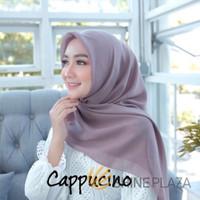 Bella Square Hijab Segiempat Cappucino - Jilbab Segiempat