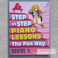 Buku Step By Step Piano Lessons The Fun Way Master Series 1-2