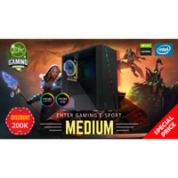 Paket PC Enter Gaming E-Sports MEDIUM INTEL X NVidia Graphic