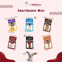 SmartBones Mini Singles - Dog Snack Food Makanan Cemilan Anjing Hewan