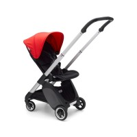 Bugaboo Complete Stroller Ant Alu/Neon Red