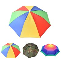 Perlengkapan Memancing: Topi Payung Kepala Bisa Dilipat Dan