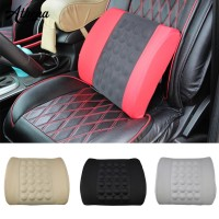 Electric Waist Pillow Car Back Mat Massage Seat Support Lumbar