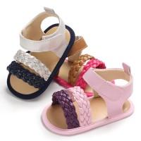 Sepatu Kasual 0-1 Tahun PU Kulit Bayi Perempuan Putri Musim Semi