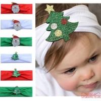❣TOP☞Newborn Kids Baby Girl Toddler Christmas Headband Hair Band